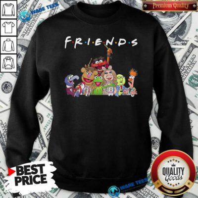 Muppet Friends Sweatshirt- Design By Waretees.com