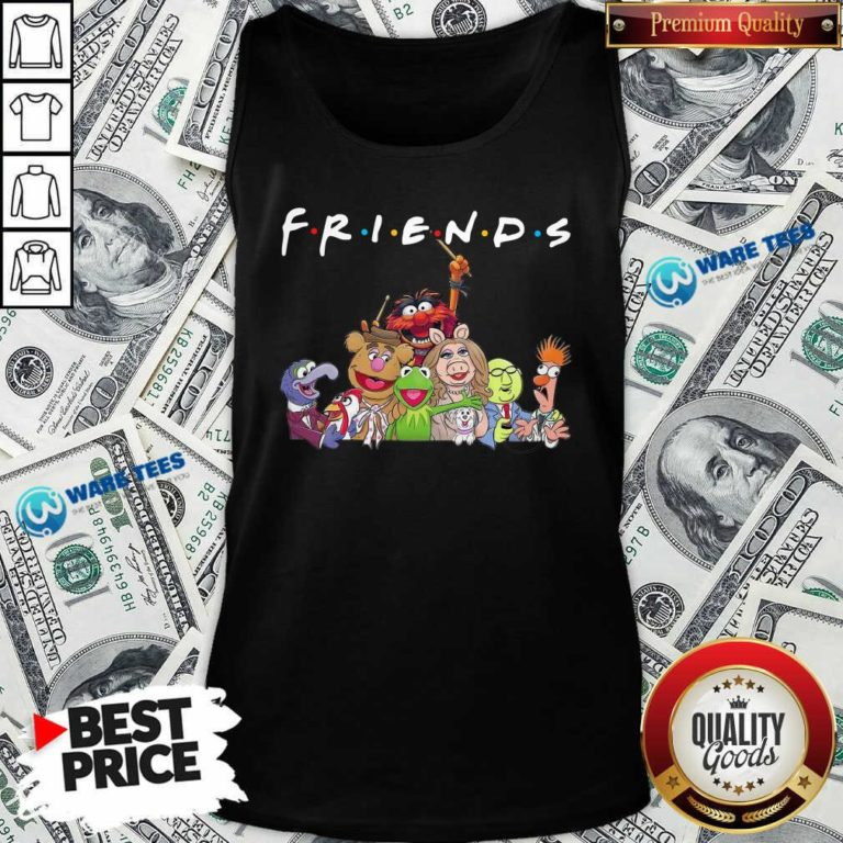 Muppet Friends Tank-Top- Design By Waretees.com