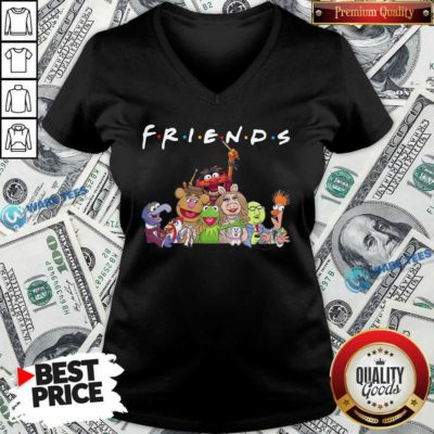 Muppet Friends V-neck- Design By Waretees.com