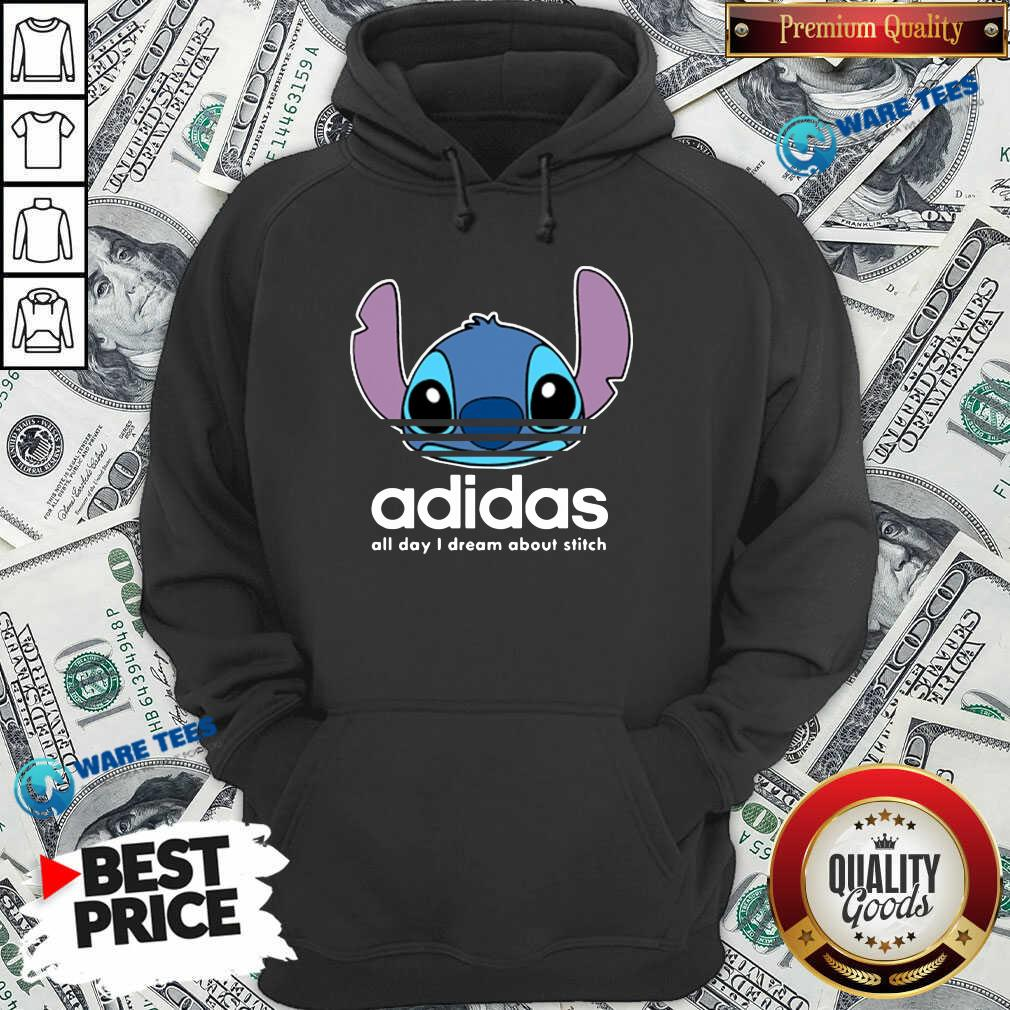 Awesome Stitch Adidas All Day I Dream About Titch Hoodie - Design by Waretees.com
