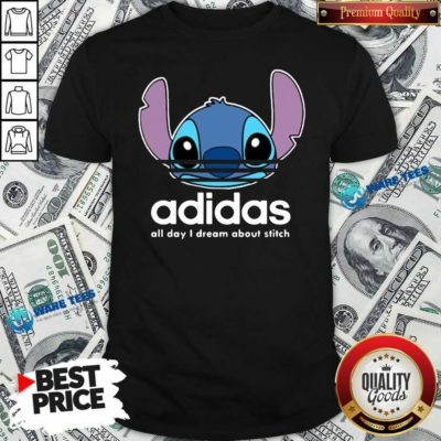 Awesome Stitch Adidas All Day I Dream About Titch Shirt - Design by Waretees.com