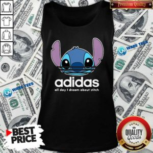 Awesome Stitch Adidas All Day I Dream About Titch Tank Top - Design by Waretees.com