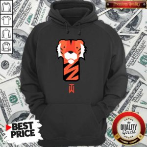 Awesome Tiger Woods Frank Golf Hoodie - Design by Waretees.com
