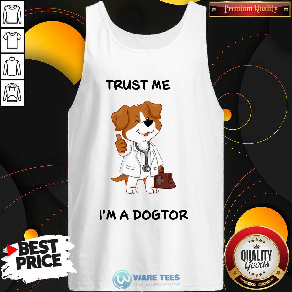 Trust Me I'm A Doctor Tank-Top- Design by Waretees.com