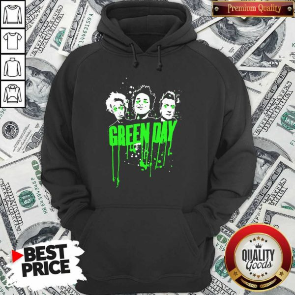 Green Day Team Hoodie - Design By Waretees.com