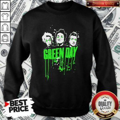 Green Day Team Sweatshirt - Design By Waretees.com