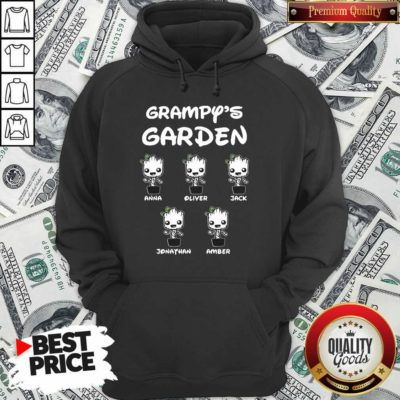 Baby Groot Grampy's Garden Anna Liter Jack Jonathan Amber Hoodie - Design By Waretees.com