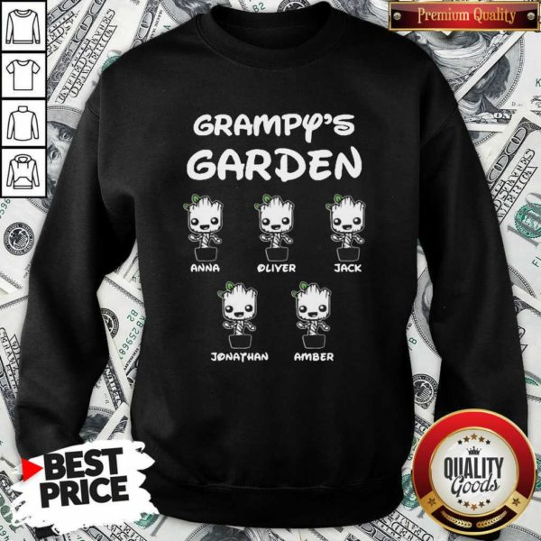 Baby Groot Grampy's Garden Anna Liter Jack Jonathan Amber Sweatshirt - Design By Waretees.com
