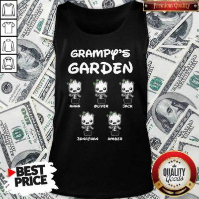 Baby Groot Grampy's Garden Anna Liter Jack Jonathan Amber Tank Top - Design By Waretees.com