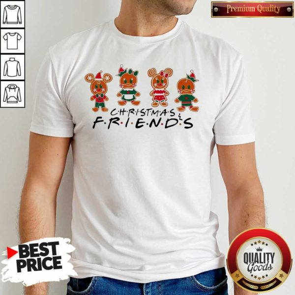 Cute Disney Christmas 2020 Disney Christmas Friends Matching Shirt - Design by Waretees.com