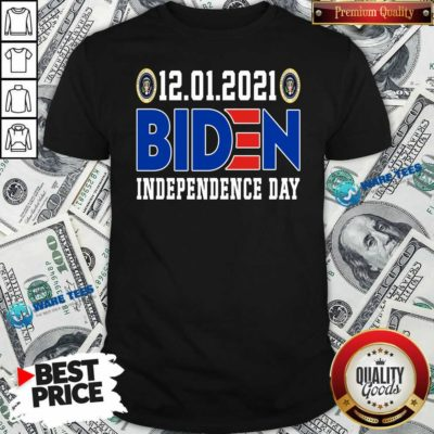 12.01.2021 Biden Independence Day Hoodie- Design by Waretees.com