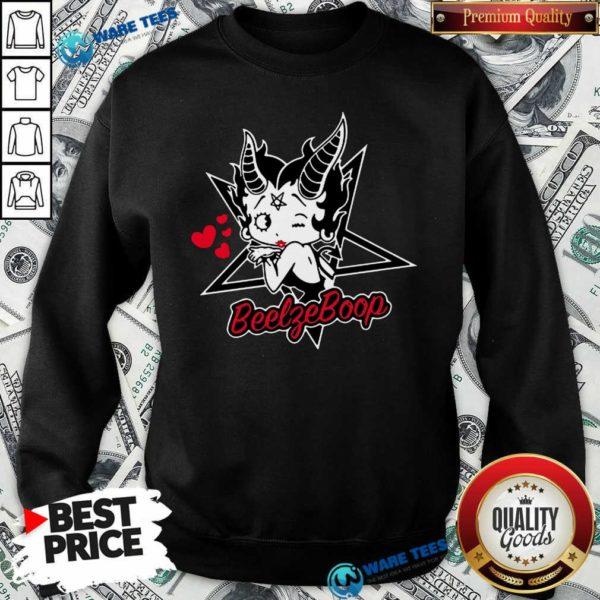 Betty Boop BeelfeBoop Sweatshirt- Design by Waretees.com