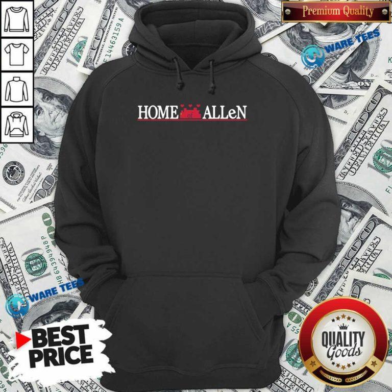 Buffalo Bills Home Of Allen Hoodie- Design by Waretees.com