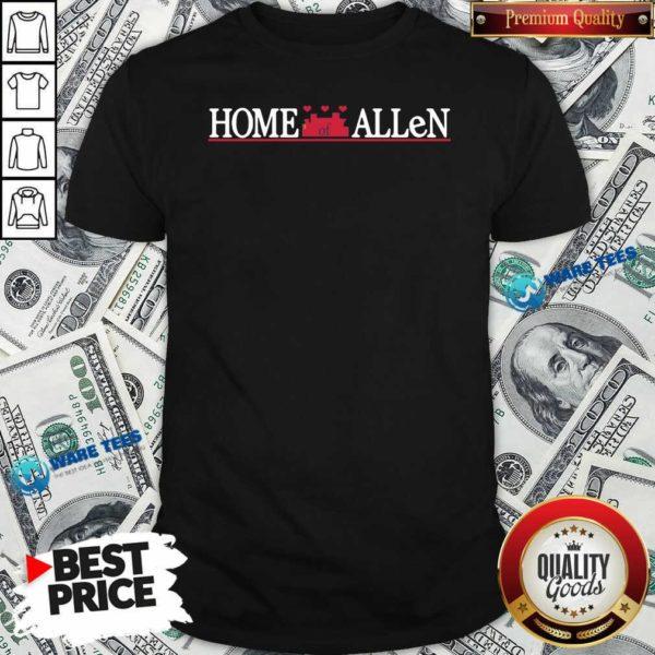 Buffalo Bills Home Of Allen Shirt- Design by Waretees.com