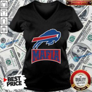 Buffalo Bills Mafia 2020 V-neck- Design by Waretees.com