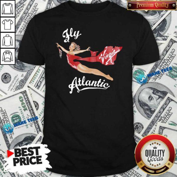 Fly Virgin Atlantic Princess Diana Shirt- Design by Waretees.com