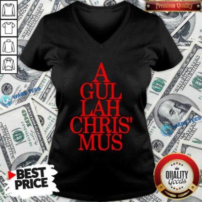 Gullahtsntings A Gullah Chris Mus V-neck- Design by Waretees.com