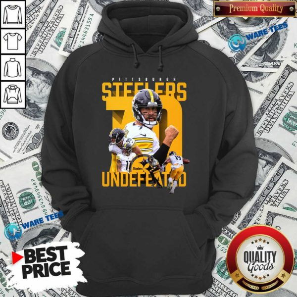Pittsburgh Steelers Undefeated 70 Hoodie- Design by Waretees.com