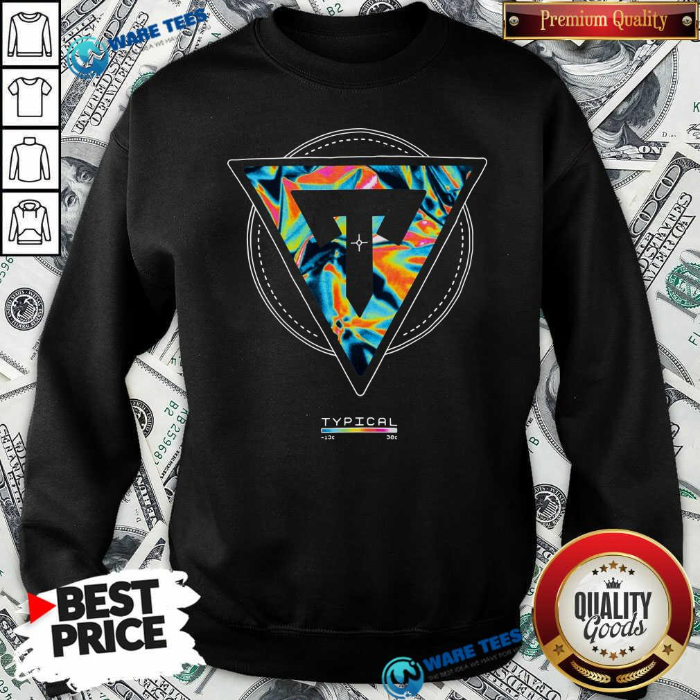Typical Gamer Merch Thermal Scope Sweatshirt- Design By Waretees.com