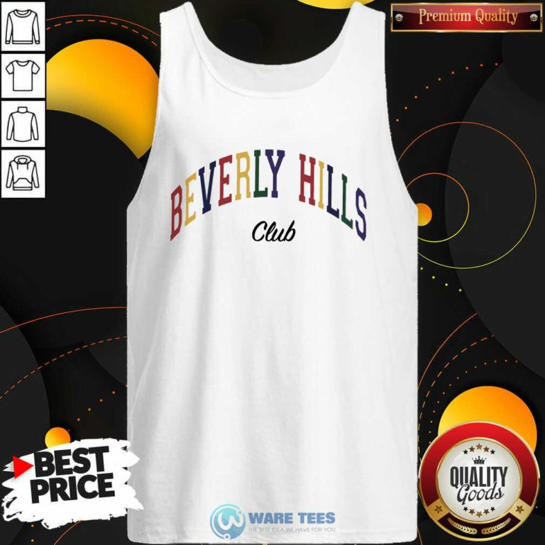 Beverly Hills Club Tank-Top- Design by Waretees.com