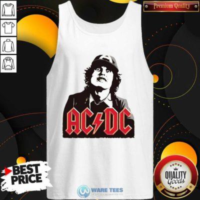 Classic Rock Magazine Ac Dc Tank-Top- Design by Waretees.com