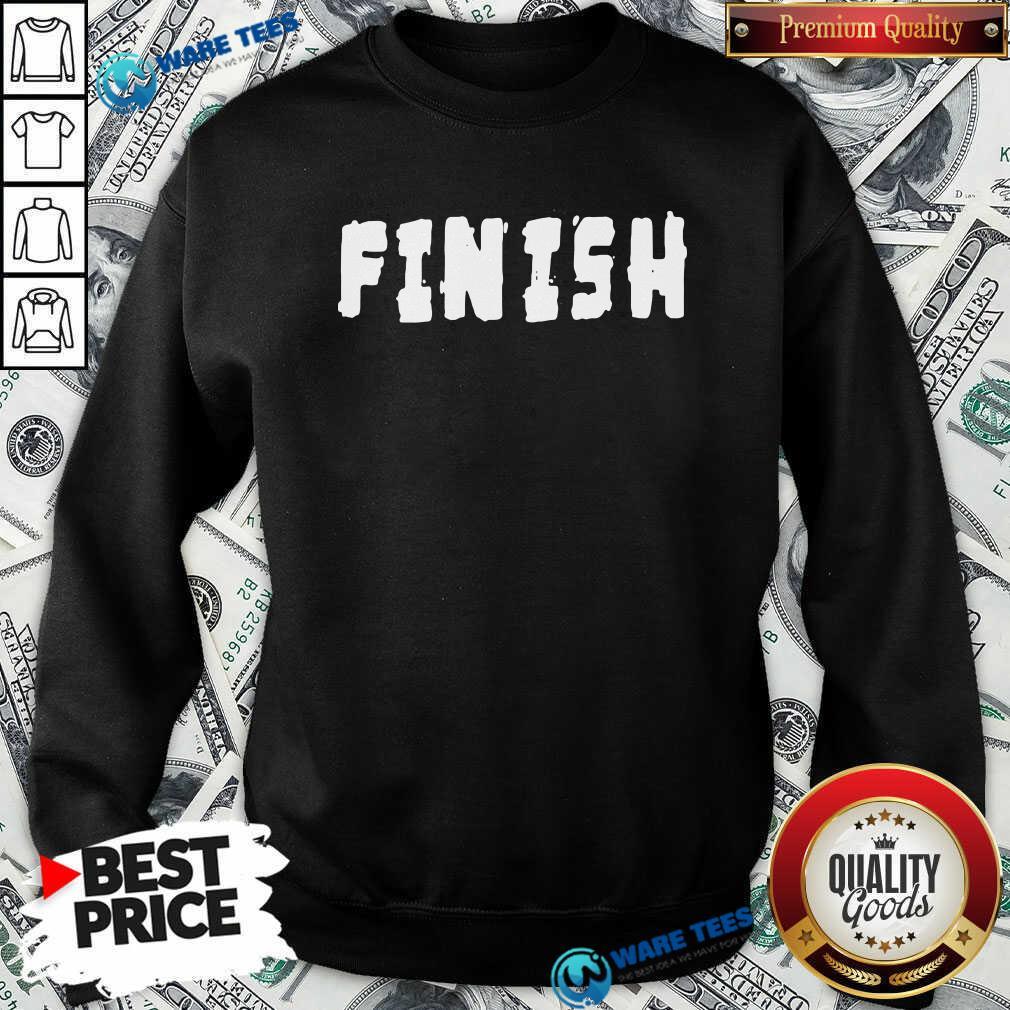 Finish Lamar Jackson Sweatshirt- Design by Waretees.com