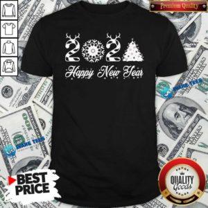 Happy New Year 2021 Christmas Tree Xmas's Shirt- Design by Waretees.com