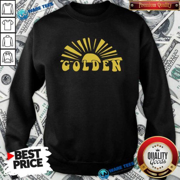Harry Styles Golden Golden Harry Styles One Direction Sweatshirt- Design by Waretees.com