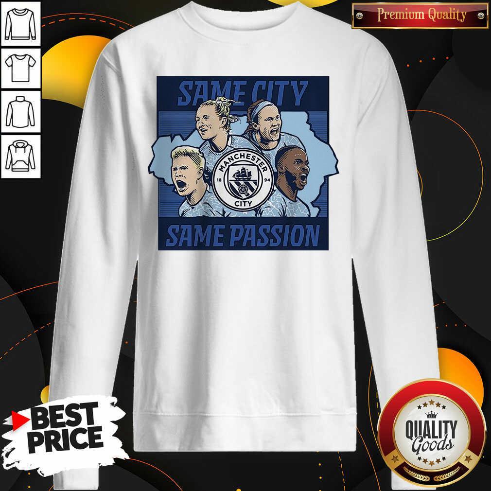 Good Same City Same Passion 2020 Sweatshirt - Design by Waretees.com