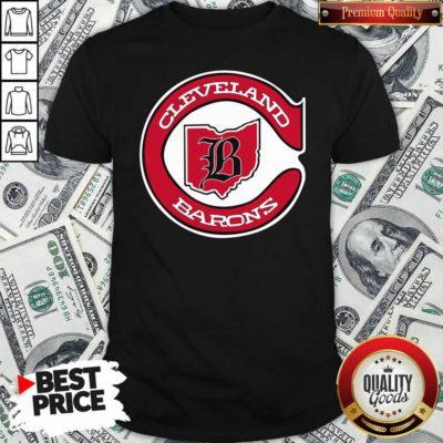 Cleveland Barons Hockey Shirt - Design By Waretees.com