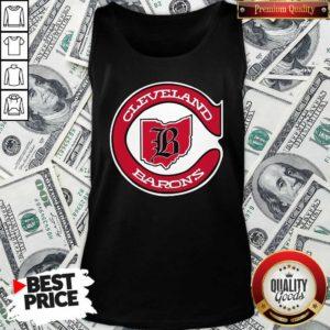 Cleveland Barons Hockey Tank Top - Design By Waretees.com