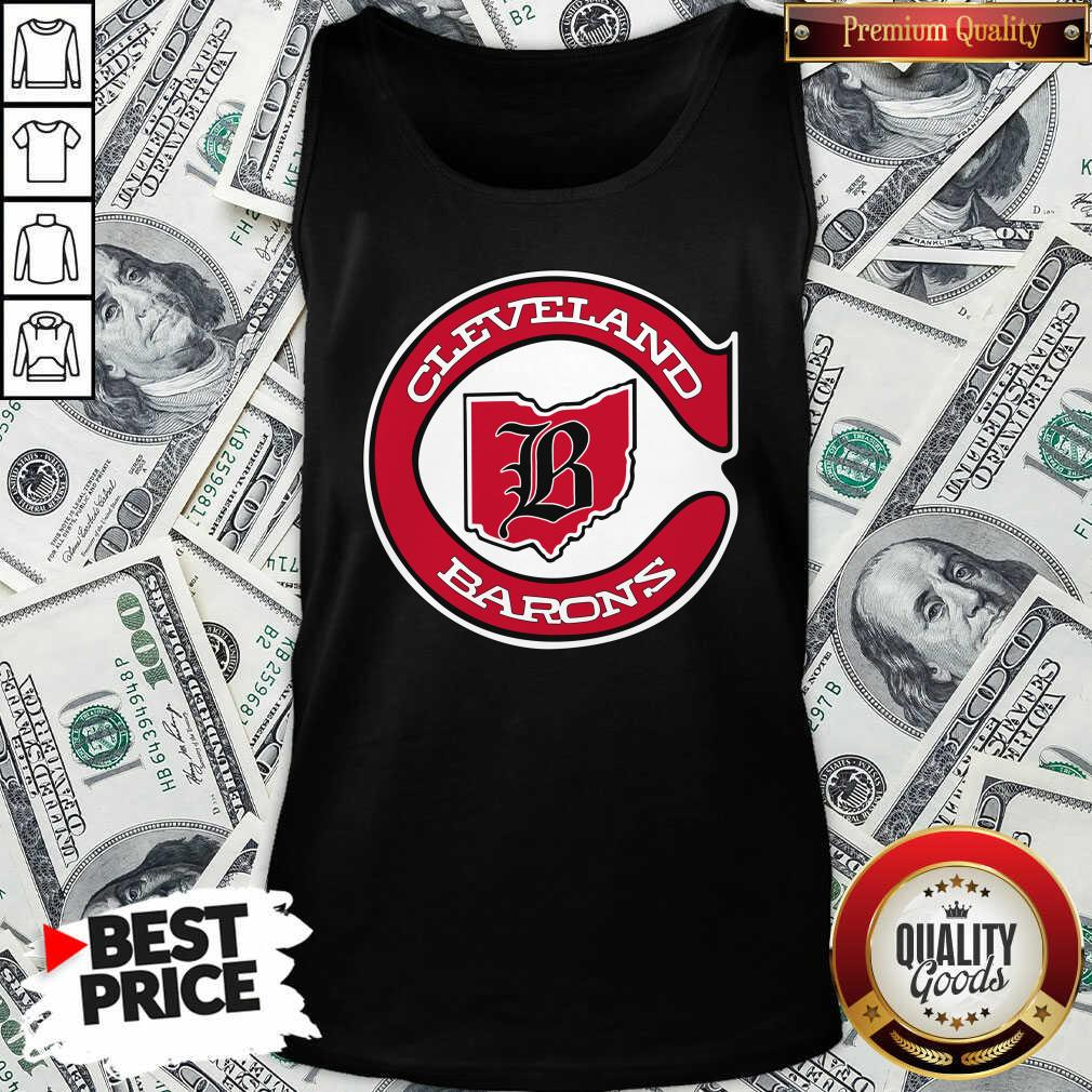 Cleveland Barons Hockey Tank Top - Design By Waretees.com