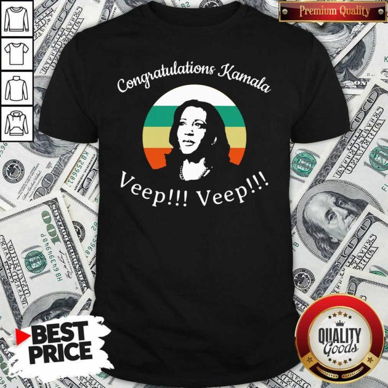 Congratulations Kamala Biden Veep My Vp Looks Like Me Vintage Shirt - Design By Waretees.com