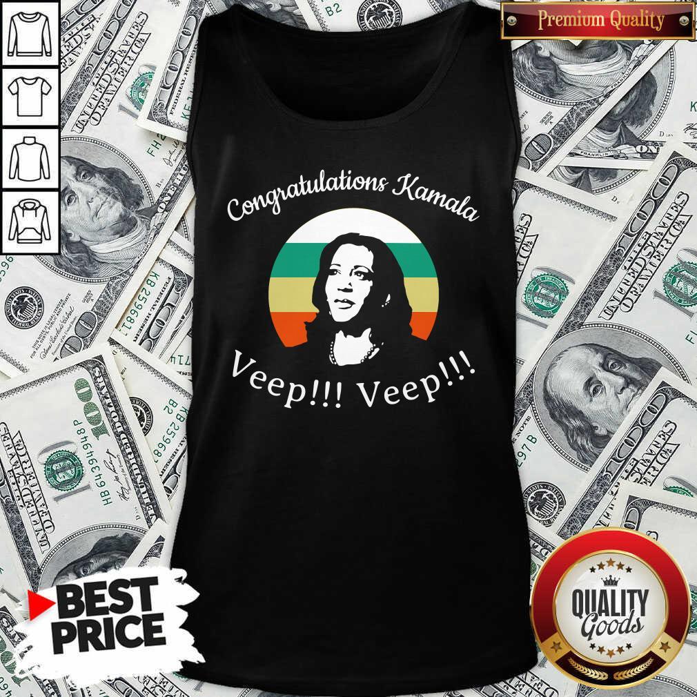 Congratulations Kamala Biden Veep My Vp Looks Like Me Vintage Tank Top - Design By Waretees.com
