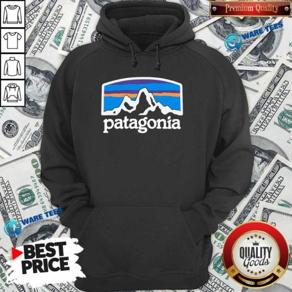 Fitz Roy Horizons Responsibili Patagonia Hoodie- Design by Waretees.com