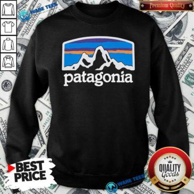 Fitz Roy Horizons Responsibili Patagonia Sweatshirt- Design by Waretees.com