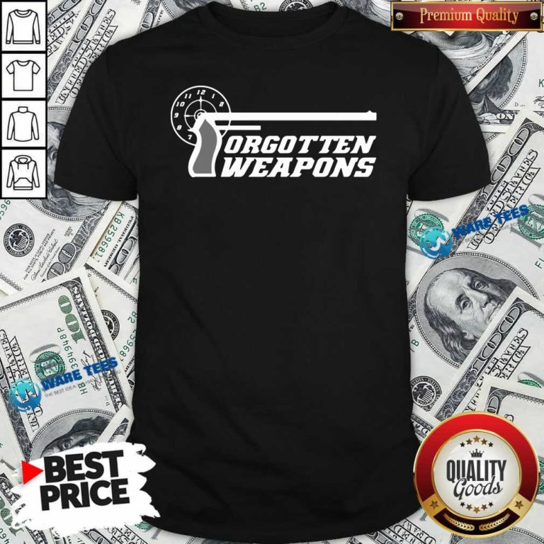 Forgotten Weapons Merch Shirt- Design By Waretees.com
