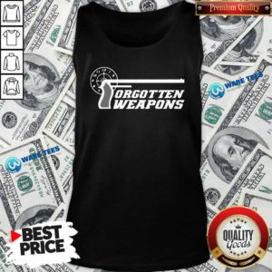 Forgotten Weapons Merch Tank-Top- Design By Waretees.com