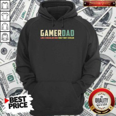 Gamer Dad Retro Like A Regular Dad Father's Day Hoodie - Design By Waretee.com