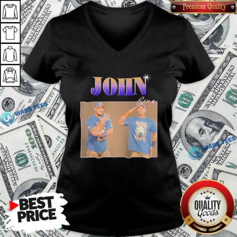 John Cera V-neck- Design by Waretees.com