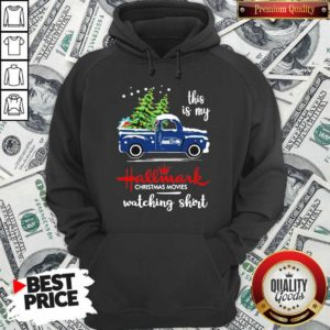 Seattle Seahawks This Is My Hallmark Christmas Movies Watching Hoodie - Design By Waretees.com