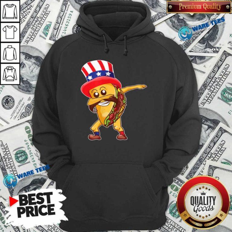 Nice Taco Dabbing American Hoodie - Design by Waretees.com