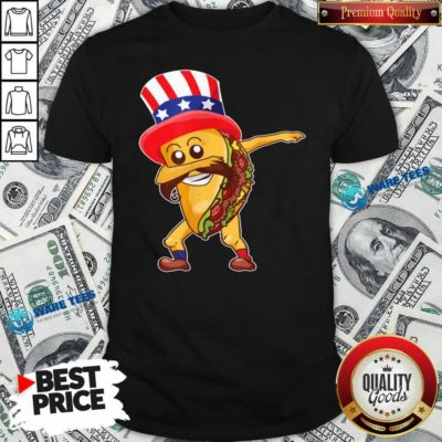 Nice Taco Dabbing American Shirt - Design by Waretees.com