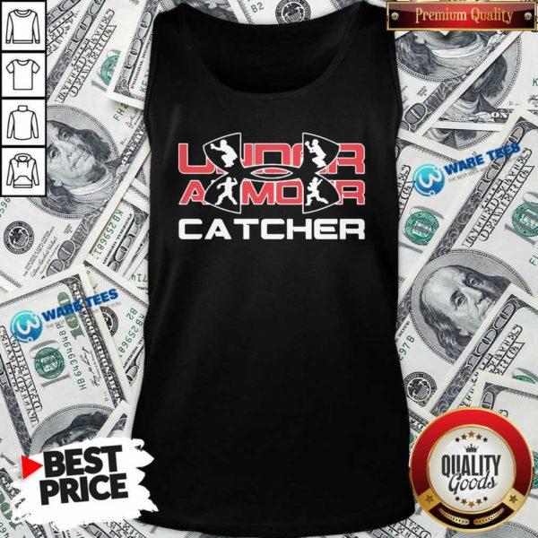 Nice Under Armour Catcher Tank Top - Design by Waretees.com