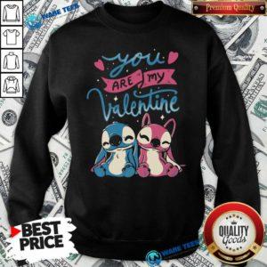 Baby Stitch You Are My Valentine Sweatshirt- Design By Waretees.com