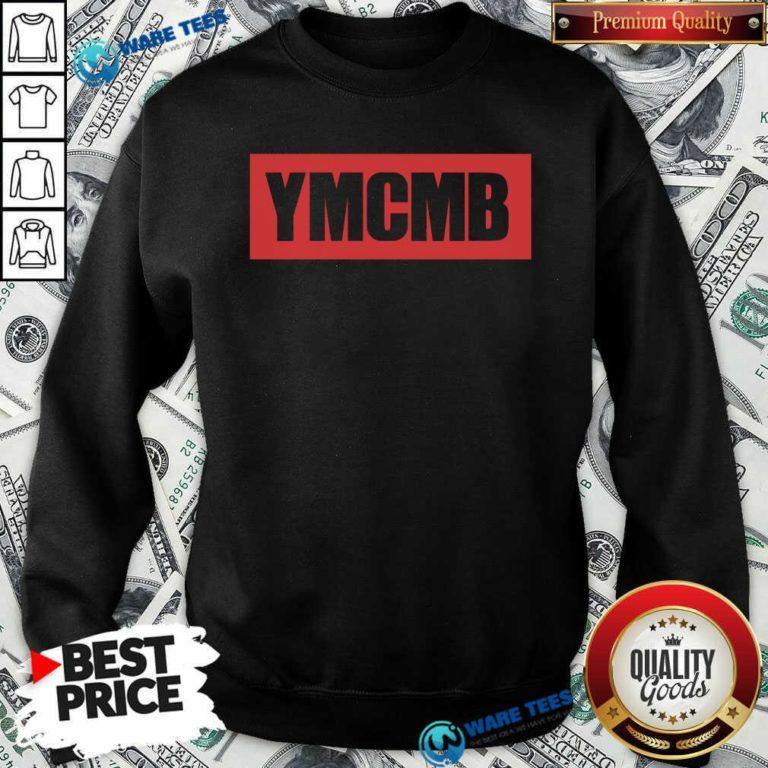 Drake Ymcmb Shirt Red Box Logo Ymcmb Sweatshirt- Design by Waretees.com