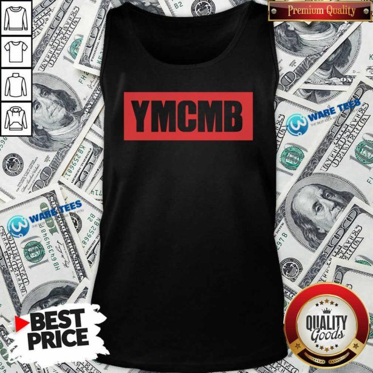 Drake Ymcmb Shirt Red Box Logo Ymcmb Tank-Top- Design by Waretees.com