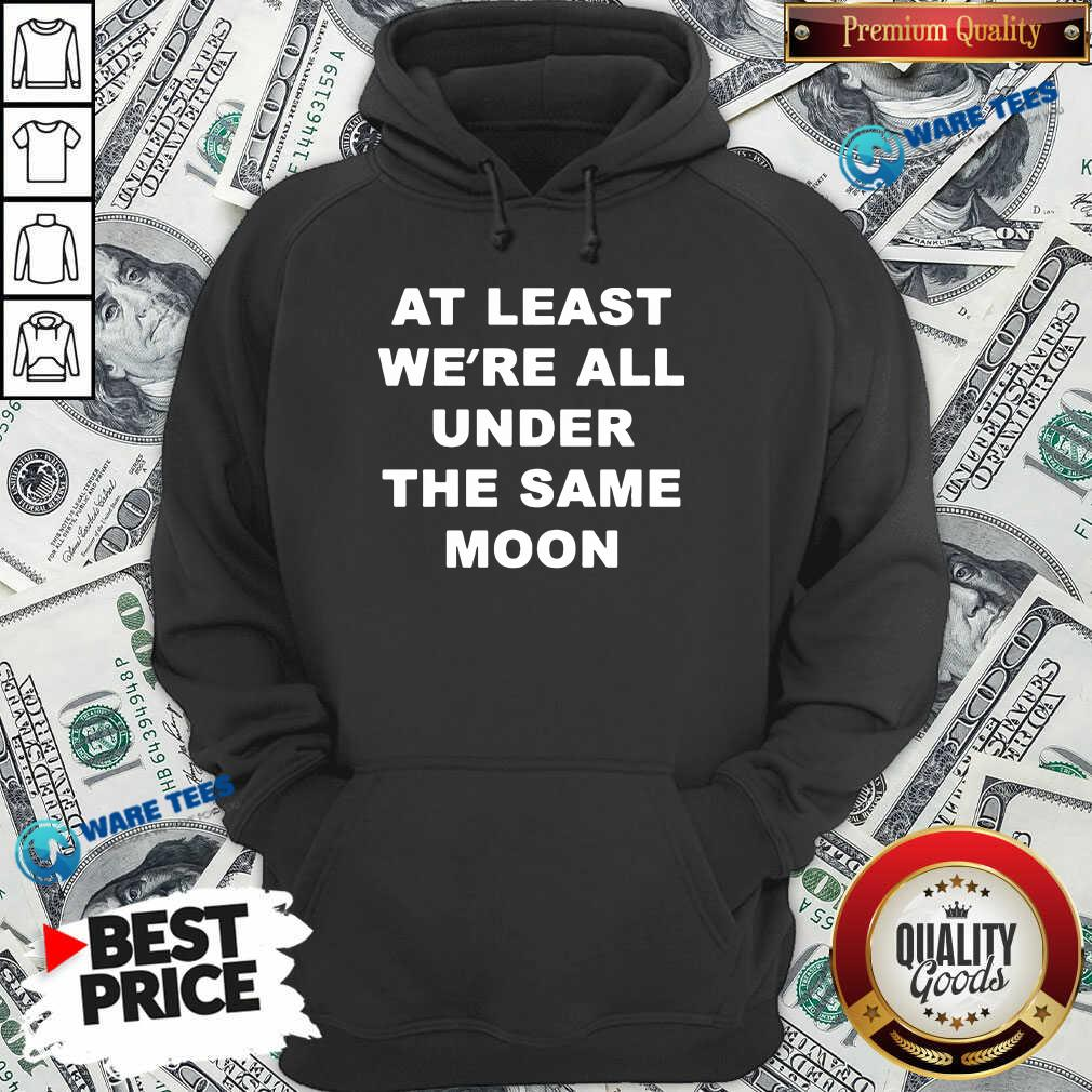 Faded Moon Merch Under The Same Moon Hoodie- Design by Waretees.com