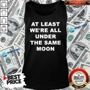 Faded Moon Merch Under The Same Moon Tank-Top- Design by Waretees.com