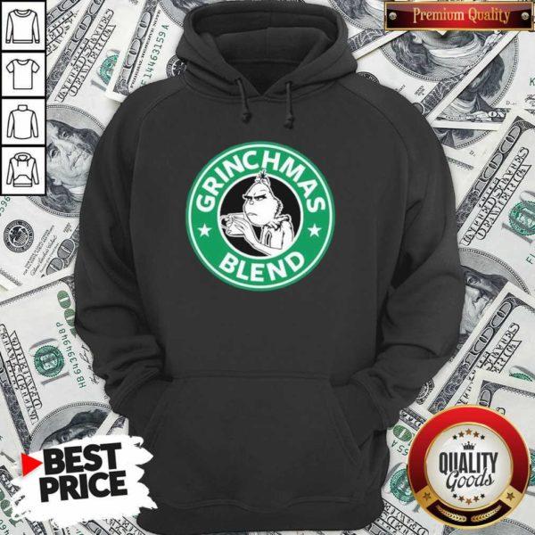 Grinchmas Drink Coffee Blend Hoodie - Design By Waretees.com